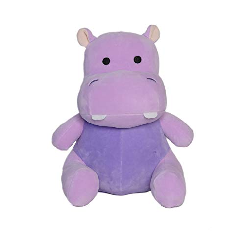 Avocatt Purple Hippo Plush Toy - 10 Inches Stuffed Animal Hippopotamus Plushie - Hug and Cuddle with Squishy Soft Fabric and Stuffing - Cute Toy Gift for Boys and Girls