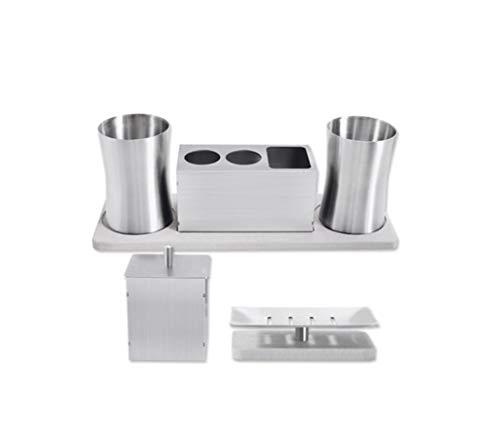 LHFJ 304 Elektrische tandenborstel, tandpasta, roestvrij staal, met mondwater, 3 verschillende opties