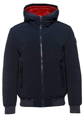 Joop! Herren Jacke Jack modisches Langarmoberteil Uni & Uninah, Größe: 50, Farbe: Blau