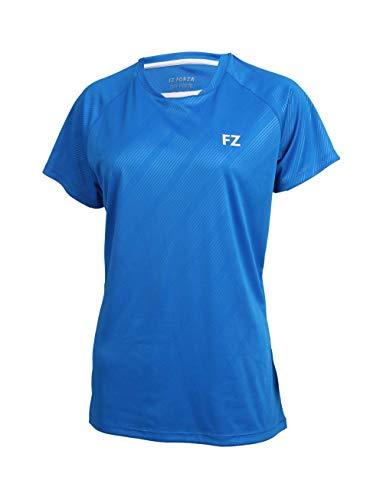 FZ Forza - Sport T-Shirt Hedda - blau, für Damen - geeignet für Fitness, Running, Fußball, Squash, Badminton, Tennis etc. - L