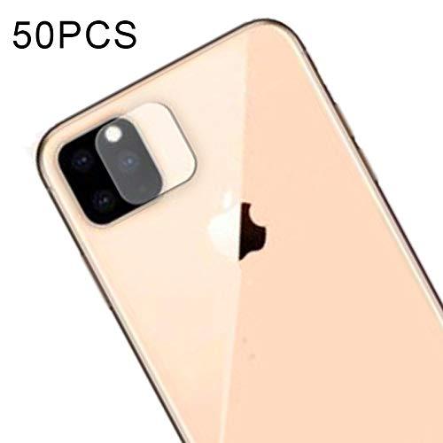 Buena 50 PCS Soft Fiber Back Camera Lens Film Película de vidrio templado for iPhone XI Max 2019 CourageL