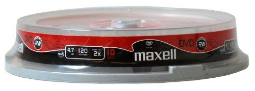 Maxell DVD-RW 4.7GB - Confezione da 10