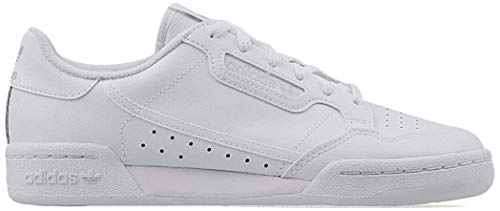 Adidas Continental 80 I, Zapatillas de Deporte Niños Unisex niño, Blanco (Ftwbla/Ftwbla/Griuno 000), 27 EU