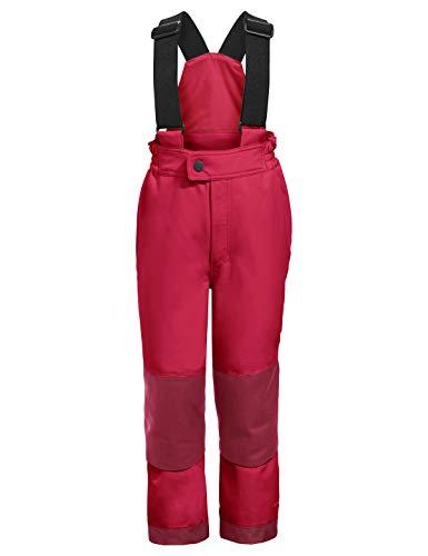 VAUDE Kinder Kids Snow Cup Pants III Hose, Crocus/Passion, 122/128