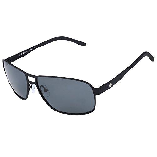 DUCO Premium Flexible Größe Rahmen Fliegerbrille polarisierte Sonnenbrille Männer Frauen 100% UV-Schutz G002