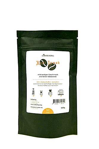 Kopi Luwak 100% Arabica Kaffee 100g (Katzenkaffee von frei lebenden Tieren) (100g Gemahlen)