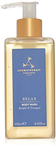 Aromatherapy Associates Relax Body Wash, 8.45 Fl Oz, the finest high-altitude grown Lavender with sublimely relaxing aromas of earthy Vetiver to cleanse, soften and ease tension away.