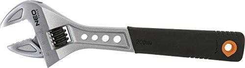 Neo Tools 03-011 - Llave inglesa (200 mm)