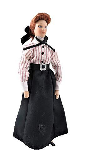 Melody Jane Puppenhaus Viktorianisch Gouvernante Frau Dame Laden Assistent Porzellan 1:12 Menschen