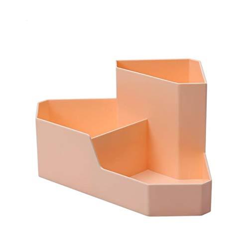 Soporte de lápiz para escritorio Caja de almacenamiento de escritorio Estante de esquina Multi-rejilla residuos Clasificación Caja de clasificación Estudiante Dormitorio Escritorio Papelería Pluma Pin