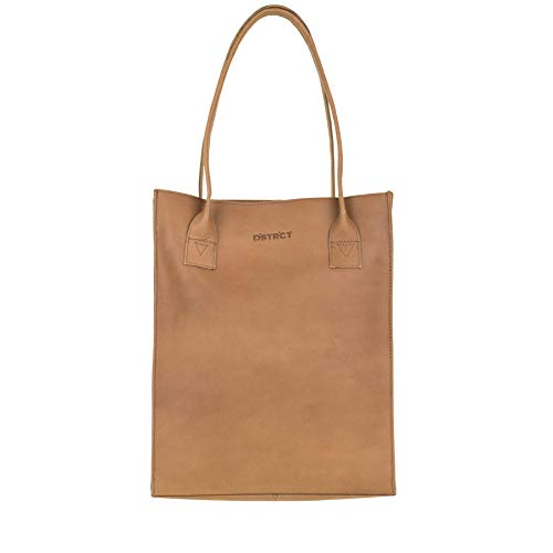 DSTRCT Riverside Shopper A4 Cognac