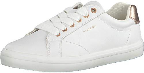 GANT Footwear Damen SEAVILLE Sneaker, Weiß (Br.Wht./Rose Gold G296), 41 EU