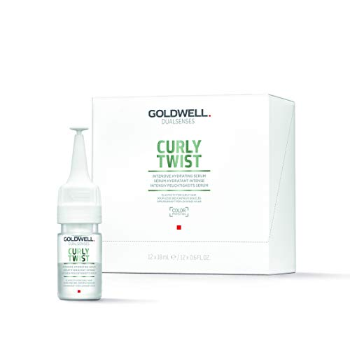Goldwell Dualsenses Curly Twist Intensiv Hydrating Farbversiegelndes Serum, 1er Pack (12 x 18 ml)