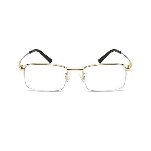 Gafas de lectura progresivas de enfoque múltiple que cambian de color, de doble uso tanto para cerca como para lejos, incoloras en interiores, decoloración sensible a la luz en exteriores, cómodas y