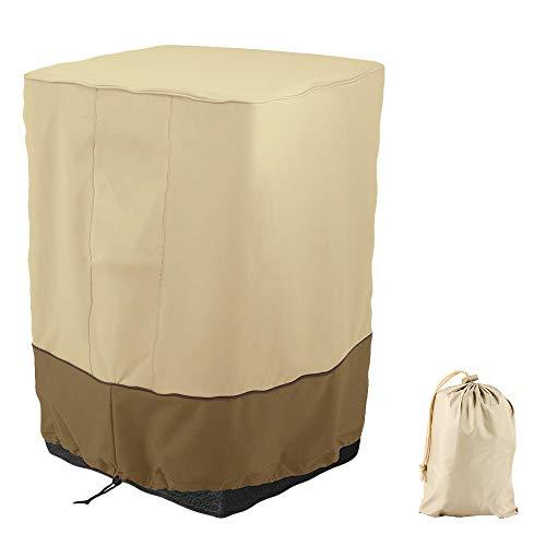 Copertura per Sedie da Giardino Impermeabile 210D Telo Coprisedie Pieghevole Parapolvere Resistente in Tessuto Oxford Quadrato 53X53X89 cm