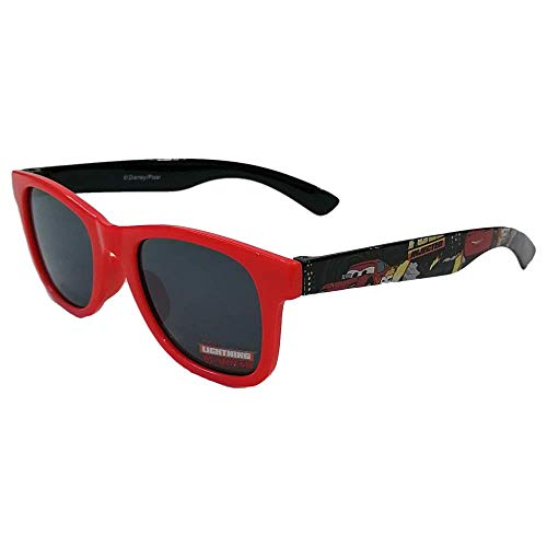 CARTOON GROUP Autos Lightning McQueen Disney Square Sonnenbrille mit UV400 Filter - WD21123 / R.