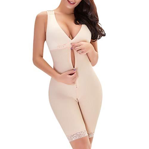 Kiminana Women Full Body Shaper Bodysuit Firm Control Shapewear Leisure Comfy Lifter Corset Shapewear