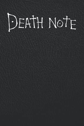 """Death Note Notebook: Journal   Death Note Notebook Replica With Rules   More than 100 Pages (6"""" x 9"""")."""