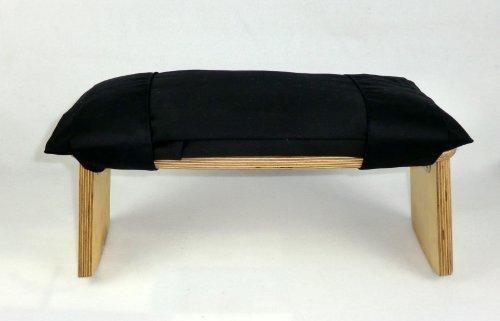 """Perfect Pillow - banco con cojín de meditación ( ceiba carga orgánica ) """"banco no está incluido """""""