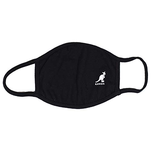 [カンゴール] ファッションマスク マスク 綿マスク 快適 普通サイズ 男女兼用 カンゴール KAL-MSK ブラック01