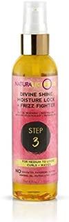 Naturalicious Divine Shine Moisture Lock & Frizz Fighter   4oz (For Medium to Loose Curls)