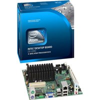 Intel Desktop Board D510MO with Integrated Intel Atom Processor D510Carte-m Ära Mini ITX inm10250GB Gigabit Ethernet Vid éo High D éfinition Audio (6-Kanal) (Pack von 10)