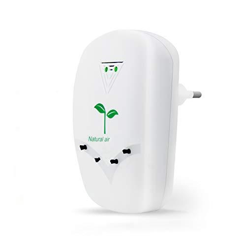 Tailiqi Luftreiniger,Air purifier für Zuhause,Mini Luftreiniger mit Lonen Generator für Zuhause Schlafzimmer Büro Küche Toilette,Haustiergeruch Zigarettenrauchgeruchsentferner