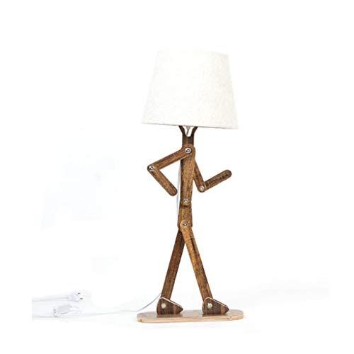 IKEA Soild 403 Houten staande lamp, led, leeslamp, permanent voor woonkamer, nacht, kantoor,