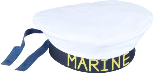 Costume Chapeau de marin, largeur tête 60, chapeau de marin, carnaval Marine
