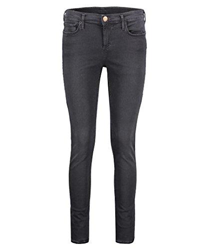 True Religion Damen Halle Light Jeans, Schwarz (Black 1001), 34 (Herstellergröße: 25)