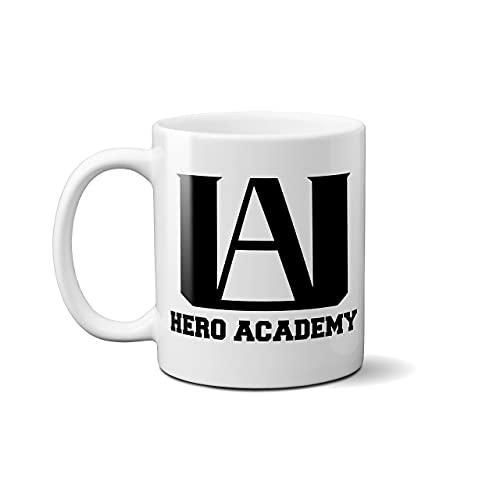 UA Hero Academy-Boku No Hero Academia/My Hero Academia - Taza de café inspirada en anime
