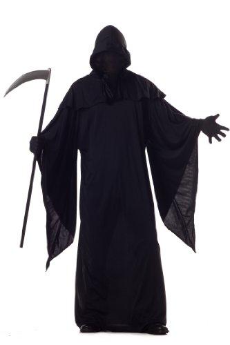 California Costumes Men's Horror Robe Costume, Black, Large