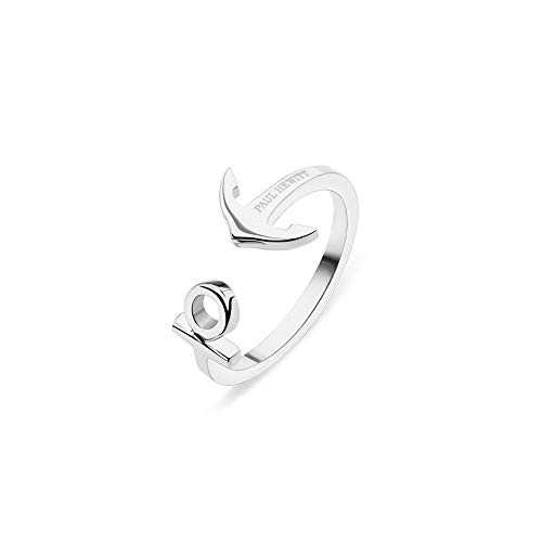 PAUL HEWITT Damen Edelstahl Ring ANCUFF - Damenring Edelstahl, Ring für Damen in Silber