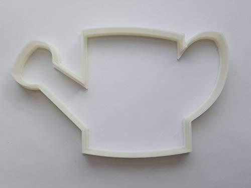 Outil d'arrosoir en forme d'outil de jardinage pour biscuits, pâtisserie, fondant, pochoir, pâte à modeler, plantes d'eau, serre – Taille M
