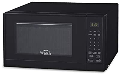 WALSH WSCMSR09BK-09 Black .9 Cu Ft Countertop Microwave Oven