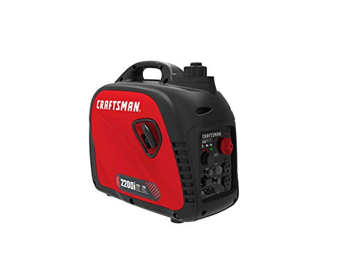 Craftsman C0010020 2200i 50St/CSA Inverter Generators, Red, Black