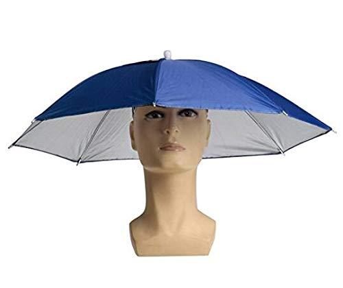 Faltbarer Sonnenschutz Regenschirm Hat Regen Hut Sonnenhut Sport Angeln Camping Gemütliche Kopfbedeckung Farbe Zufällig
