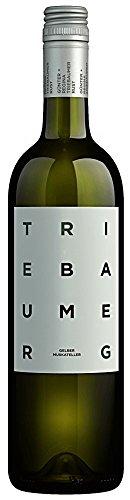 Gelber Muskateller 2017 - Triebaumer | trockener Weißwein | österreichischer Wein aus dem Burgenland | 1 x 0,75 Liter