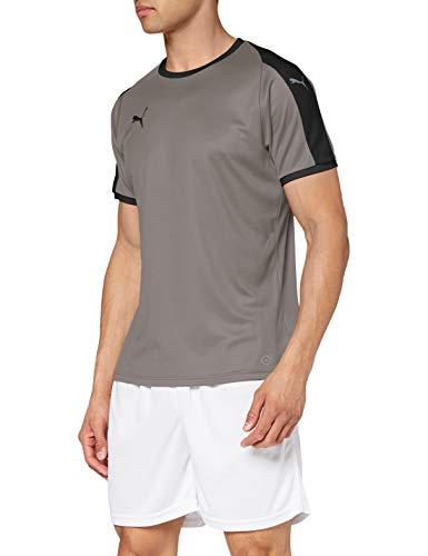 Puma - Maglietta da uomo Liga Jersey, Uomo, In jersey., 703417_13, Steel Gray-Puma, nero, M