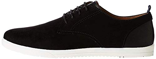 find. Herren Mendel Sports Derby Sneakers, Schwarz (Black), 43 EU