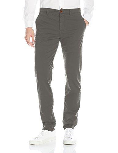 BOSS Orange Men's Schino Tapered Stretch Chino Pant, Dark Grey, 32 34