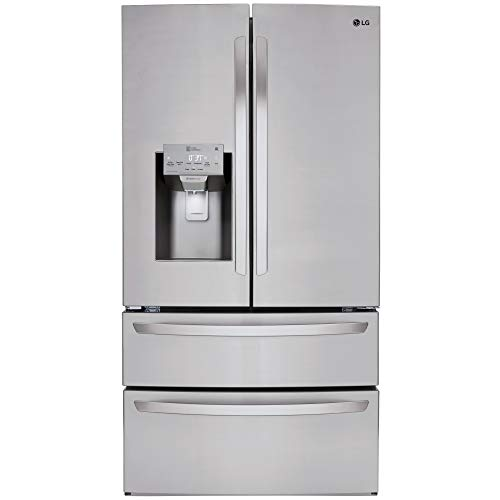 LG LMXS28626S 28 cu.ft. 4-Door French Door Refrigerator - Stainless Steel