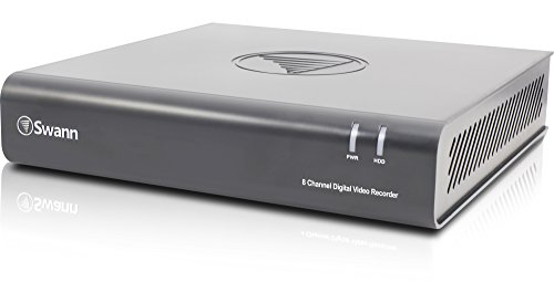 Swann 8 Channel 1080P HD Home Security DVR, 1TB HDD, Swann 4600 Series (Expand with Swann Pro-A855 Cameras) - SWDVR-84600H-US