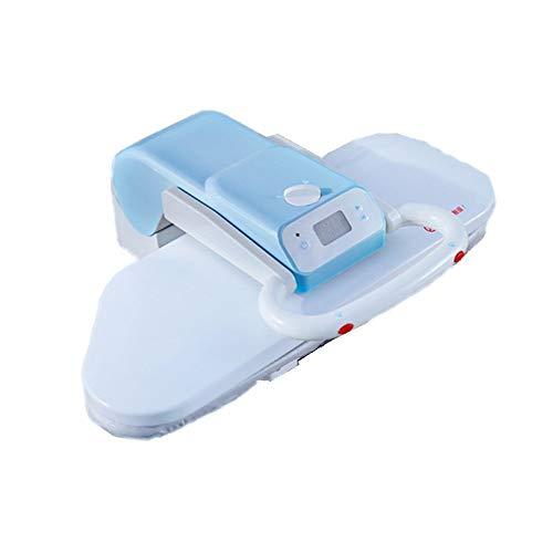 NBLL Kompakte Bügeldampfmaschine, mittelgroße Dampfpresse, Verschiedene Stoffeinstellungen und Dampfstrahlfunktion, geeignet für Erwachsene, Kinder und Babys