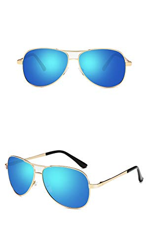 thematys Elegantes gafas de aviador para hombre y mujer polarizadas - Gafas de sol unisex UV400 en 8 colores diferentes (Style 5)
