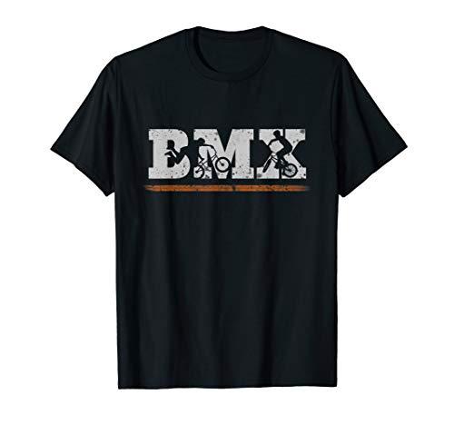 Cooles BMX Shirt Dirt Bike Freestyle Fahrer T-Shirt Retro
