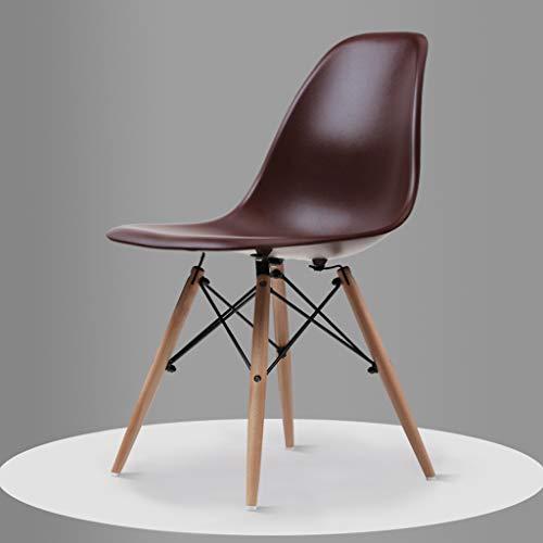 PLL Nordic moderne minimalistische huis massief hout stoel wit zwart bruin eettafel stoel