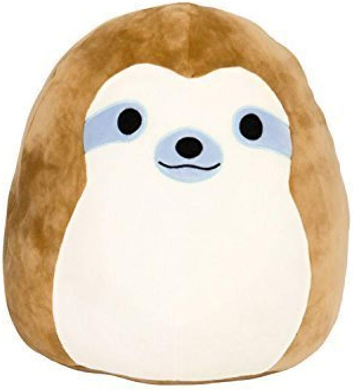 Squishmallow 8 Plush Animal Pillow Pet Simon The Sloth