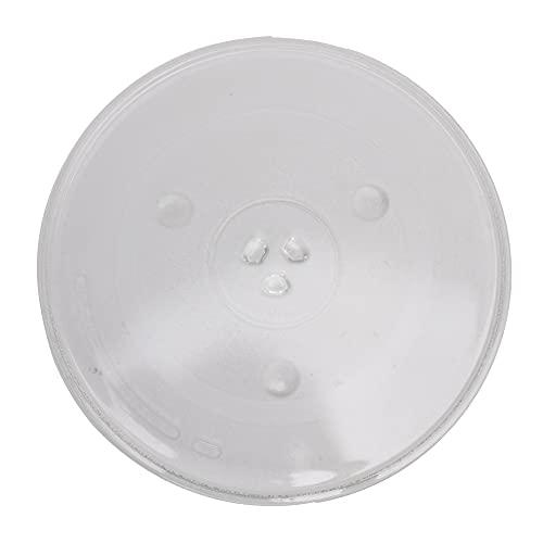 """BQLZR 12.4 """"diámetro redondo microondas de vidrio cocina plato giratorio bandeja de cocina WB39X10002"""
