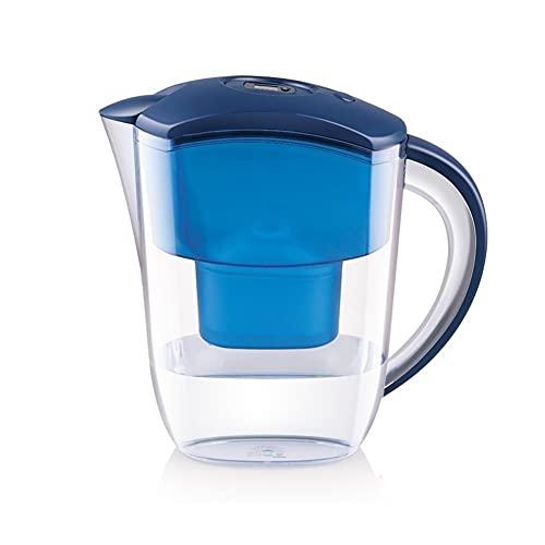 Z-Color Jarra de Filtro de Agua Pura | BPA- Libre | Elimina el fluoruro, el Plomo, los Metales Pesados de Cromo, los pesticidas, los Productos químicos (Size : 4 Core)